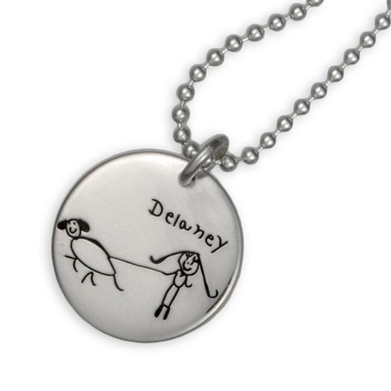 Artwork Charm Necklace