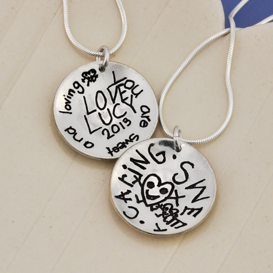Back of Coach Necklace