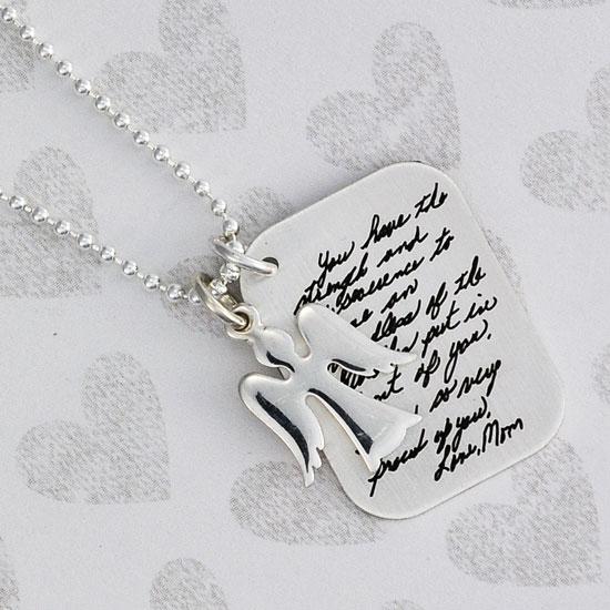 Handwriting Love Letter Charm